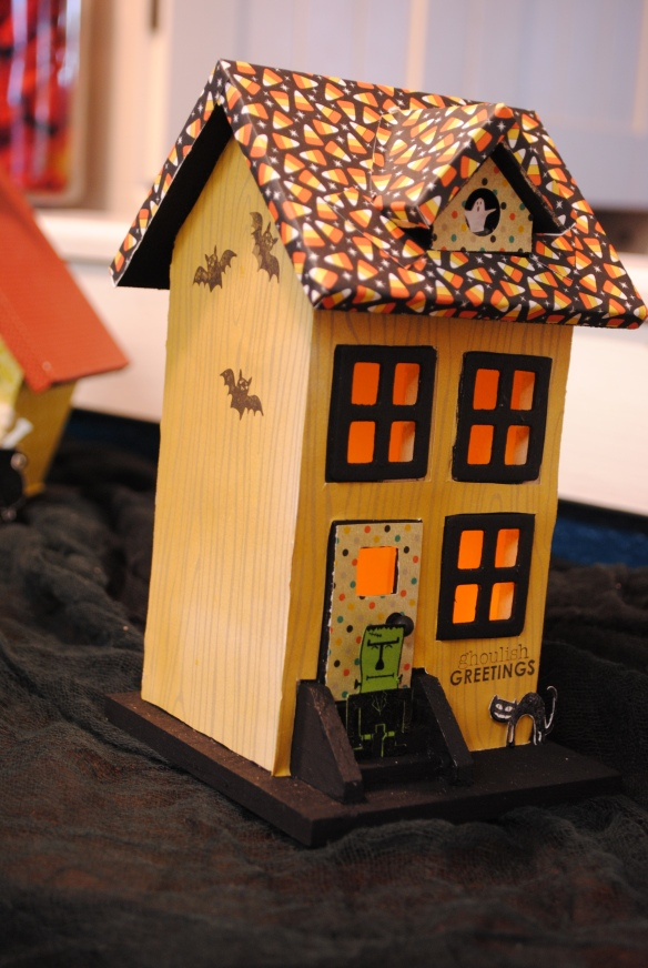 Stampin Up Haunted Houses Creative Tracks