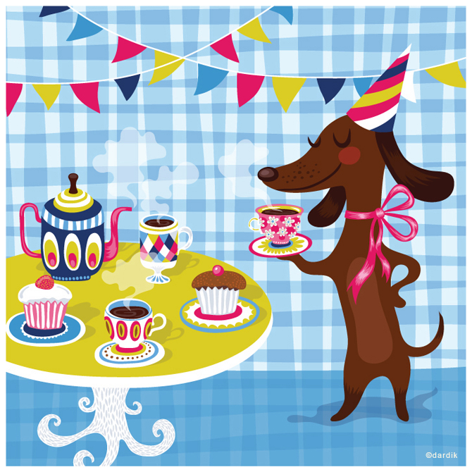 Dog Party Invitations for amazing invitations example